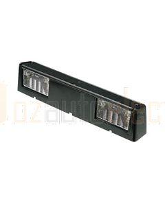 Hella Licence Plate Lamp - Black (2558)