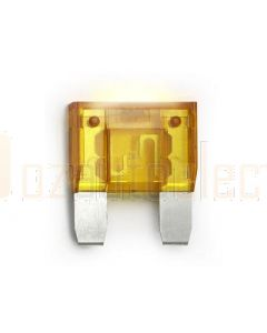 Hella MIning 9.HM4990 Maxi Blade Fuse - 20A, Yellow (Pack of 15)