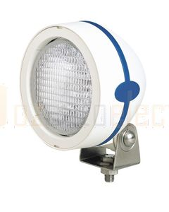 Hella Mega Beam Halogen FF Single Beam Work Lamp - Close Range, White, 24V (2835-24V)