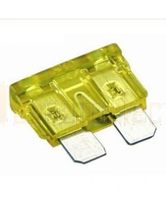 Hella MIning 9.HM4978 Mini Blade Fuse - 20A, Yellow (Pack of 30)