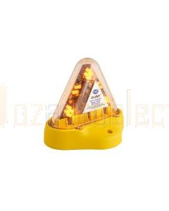 Hella Mining HM180AMAG MiniRAY LED Warning Beacon - Magnetic Mount, Amber