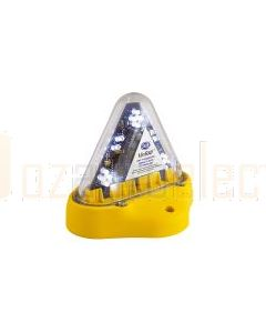 Hella Mining HM180WMAG MiniRAY LED Warning Beacon - Magnetic Mount, White