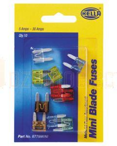 Hella Motorist Mini Fuse Assortment (8779MINI)