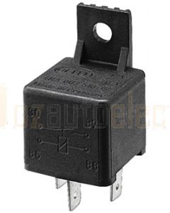 Hella Normally Open Relay - 4 Pin, 24V DC (3079)