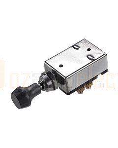 Hella Off-On-On Headlamp Push/Pull Switch - Black Grip (4055)
