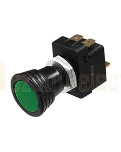 Hella 4411 Off-On Push/Pull Switch - Green Pilot Lamp (4411)