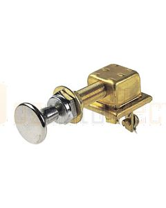 Hella On-Off Push/Pull Switch - Chrome (2761)