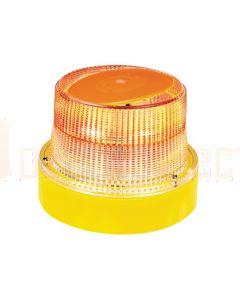 Hella OptiRAY-E Series - Amber Illuminated, Magnetic Mount (HM300AMAG)