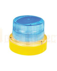 Hella HM300BMAG OptiRAY-E Series - Blue Illuminated, Magnetic Mount