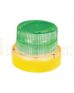 Hella HM300GMAG OptiRAY-E Series - Green Illuminated, Magnetic Mount