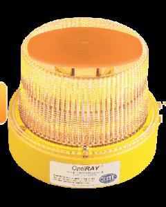 Hella Mining HM360ABPMAG OptiRAY LED Warning Beacon - Magnetic Battery Pack, Amber