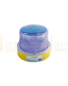 Hella Mining HM360BBPMAG OptiRAY LED Warning Beacon - Magnetic Battery Pack, Blue