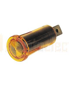 Hella Pilot Lamp - Amber, 12V (2711)