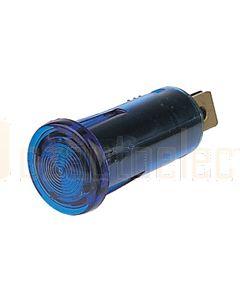 Hella Pilot Lamp - Blue, 12V (2710)