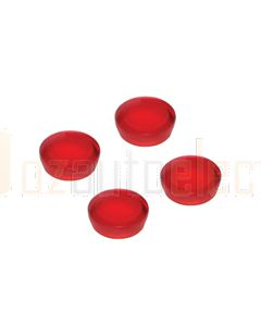 Hella Plastic Screw Cap to suit all Rectangular Hella LED Lamps - Red (9HD959182027)