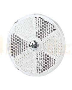 Hella 2917 White Retro Reflector