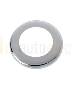 Hella Round Cover - Chrome (95950501)