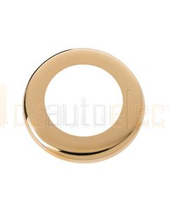 Hella Round Cover - Gold Plated (95950502)