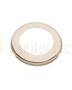 Hella Round Cover - Gold Plated Stainless Steel (95950552)