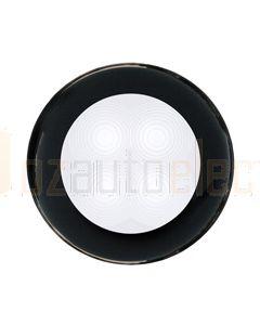 Hella Round LED Courtesy Lamp - White, Hi-Intensity, 12V DC (98050051)
