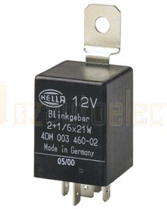 Hella Solid State Electronic Flasher Unit - 5 Pin, 12V DC (3017)