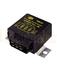 Hella Solid State Electronic Flasher Unit - 6 Pin, 24V DC (3032)