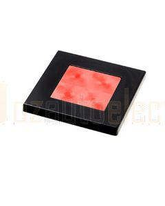 Hella Square LED Courtesy Lamp - Red, 24V DC (98058821)