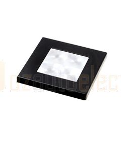 Hella Square LED Courtesy Lamp - White, Hi-Intensity, 24V DC (98058151)