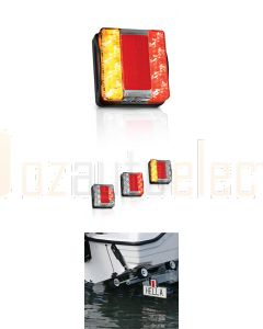 Hella Submersible LED Rear Combination Lamp - 6.0m Cable (2394-6M)