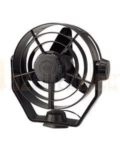 Hella Turbo Fan - Black, 12V DC (6100)