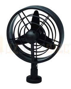 Hella Turbo Fan - Black, 24V DC (6101)