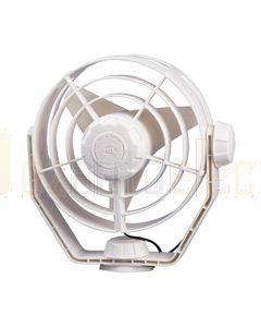 Hella Turbo Fan - White, 12V DC (6100-W)
