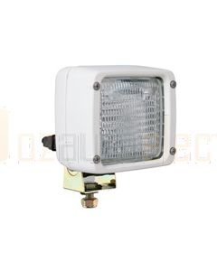 Hella Ultra Beam Halogen FF Single Beam Work Lamp - Close Range, White, 12V (2833)