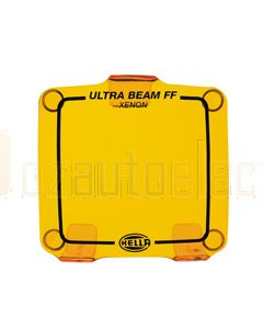 Hella Ultra Beam Xenon Clear Protective Cover, Amber (HM8157AMBER)