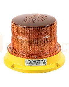 Hella Mining HM500ADIR UltraRAY-R Twin Amber LED Warning Beacon