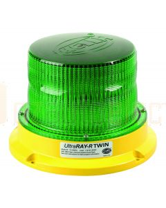 Hella Mining HM500BMAG UltraRAY-R Twin  LED Warning Beacon - Green Direct Mount