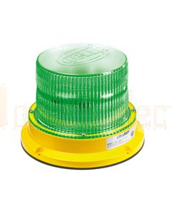 Hella UltraRAY Series - Green Illuminated, Magnetic Mount (HM400GMAG)