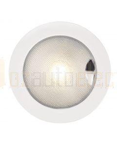 Hella Marine 2JA980630-601 Warm White EuroLED 150 Touch Lamp - 9-33V DC White Plastic Rim