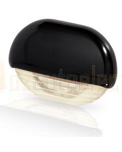 Hella Marine 2JA998560-421 Warm White LED Easy Fit Step Lamp - 12-24V DC, Black Plastic Cap