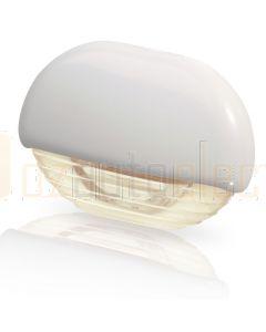 Hella Marine 2JA998560-411 Warm White LED Easy Fit Step Lamp - 12-24V DC, White Plastic Cap