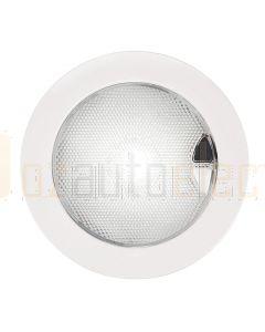 Hella Marine 2JA980630-501 White EuroLED 150 Touch Lamp - 9-33V DC White Plastic Rim