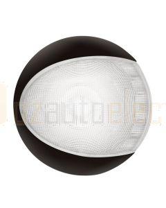 Hella Marine 2JA959820-511 White EuroLED Lamps - Black Shroud