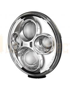 "Hella 1358LED 7"" Round LED Headlamp"