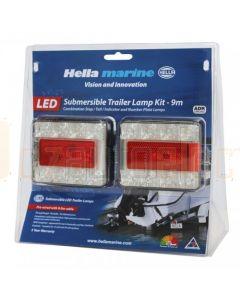 Hella 2395TP9M LED Combination Trailer Lamp Kit
