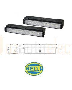 Hella 5636 LED Safety Daylight Daylights Kit - Easy-Fit