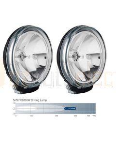 Hella 5650/100 Comet 500 FF Series 100W Driving Lamp Kit
