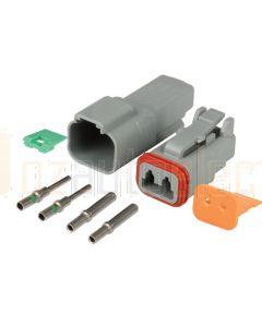 Hella Mining HM4960 2 Pin DT Series Deutsch Connector