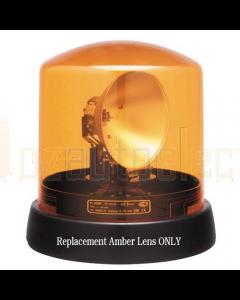 Hella 9.1796.01 Amber Lens