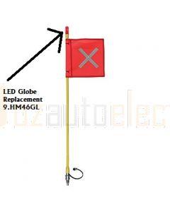 Hella Mining 9.HM46GL LED Globe to suit LED Buggy Whip