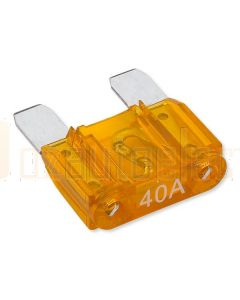 Hella MIning 9.HM4992 Maxi Blade Fuse - 40A, Orange (Pack of 15)